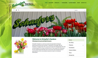 Schaefers Gardens Wholesale Annual and Bulb Growers