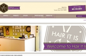 Hair It Is - Creations by: John L. Tokos & Associates