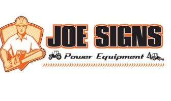 Joe Signs Power Equipment